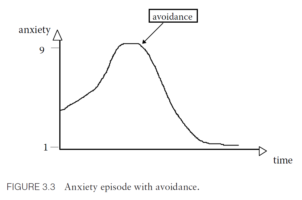 Anxiety episode with avoidance