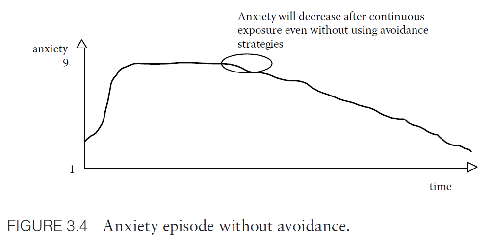 Anxiety episode without avoidance